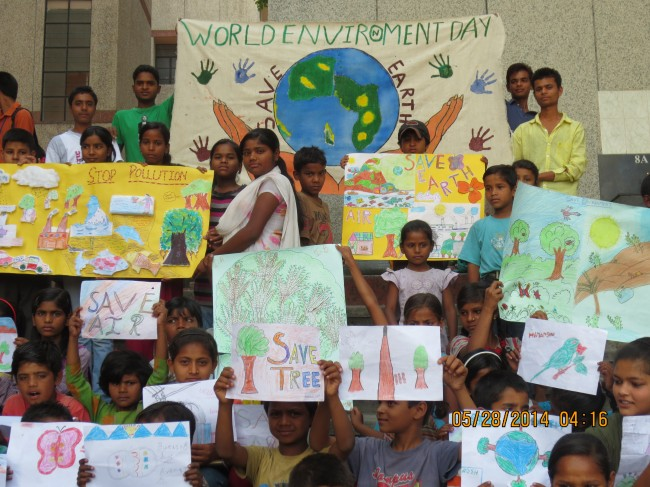 World Environment Day Celebration - Aasraa Trust - Aasraa ...