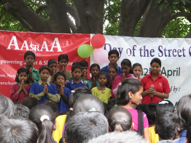 Celebrating the International Day for Street Children