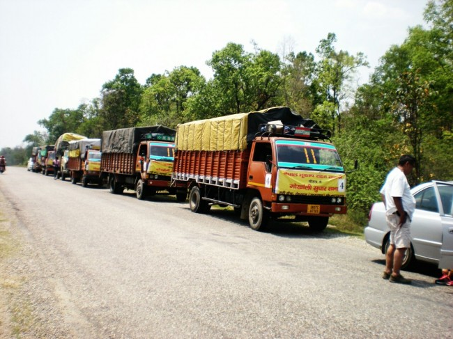 Diary of a Convoy 'Nepal Relief'