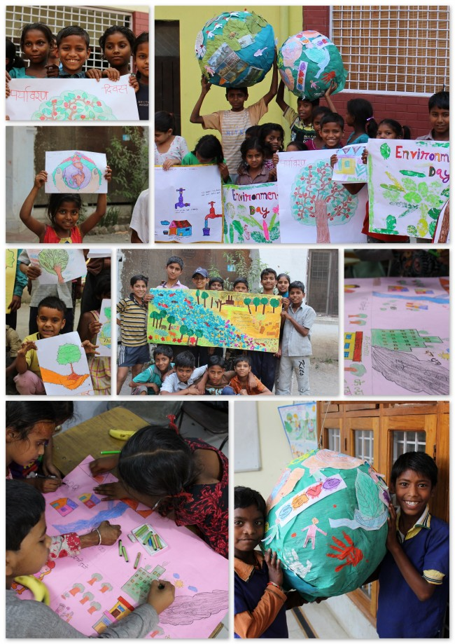 Environment Day Celebrated - Children of Aasraa Trust Paint the Town GREEN!