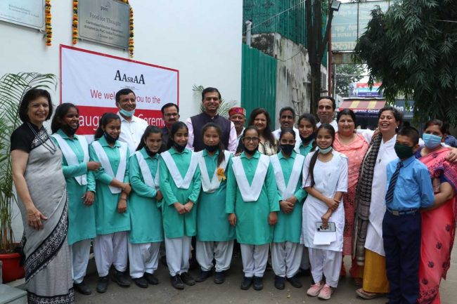 Aasraa Trust launches 'Food for Thought' for Street and Slum Children